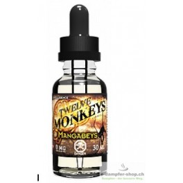 TWELVE MONKEYS - MANGABEYS 30ML 80 VG