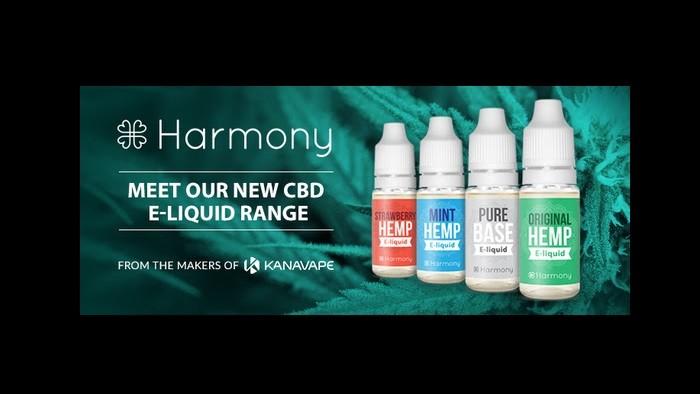 Harmony CBD E-Liquids