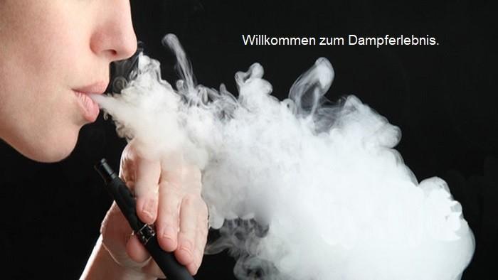Dampfen e-Zigarette